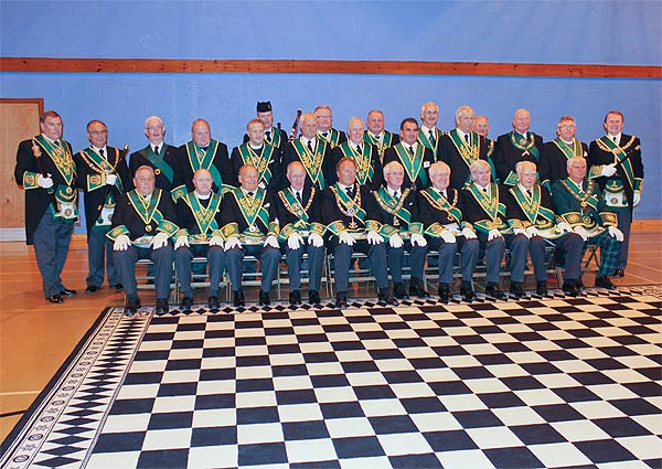 Commissioned Office Bearers and Grand Lodge Delegation